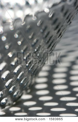 Abstract Perforated Metal