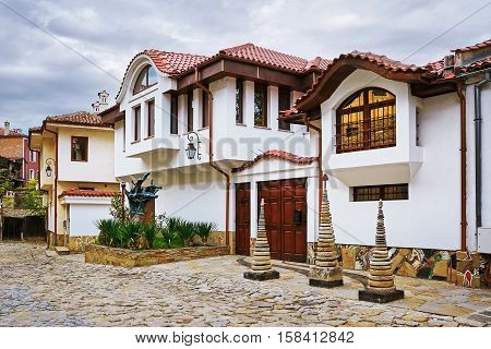 Houses In Old Plovdiv