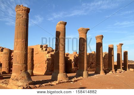 The Temple of Naga in the Sahara of Sudan