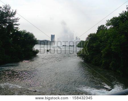 unforgettable summer trip to Niagara Falls. waterfall start