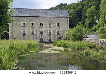 Belvedere Mill & River Frome Chalford Stroud Gloucestershire