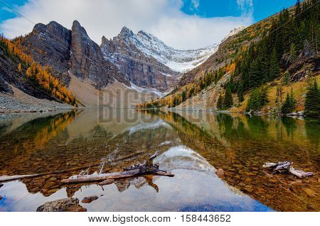 Hiking Lake Agnes
