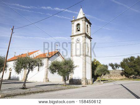 parish church in Medelim town, Idanha a Nova, Castelo Branco district, Portugal