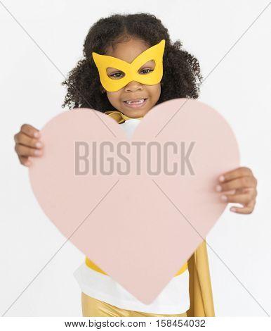 Superhero Girl Bold Brave Female Idol Concept