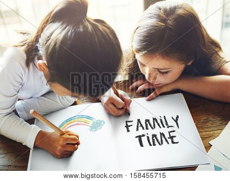 Family Time Togetherness Sharing Love Belonging Concept