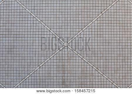 Gray ceramic brick tile wall, background for graphic resource
