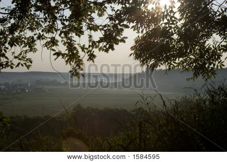A Sunrise In The Country