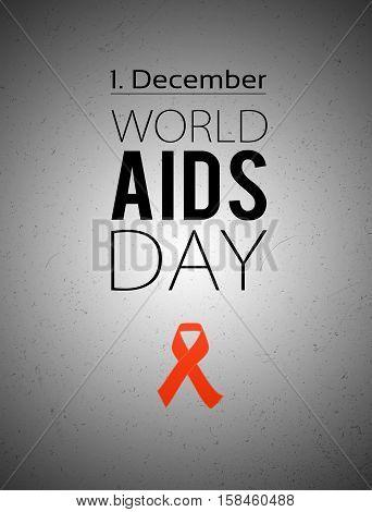 World Aids Day. 1St December