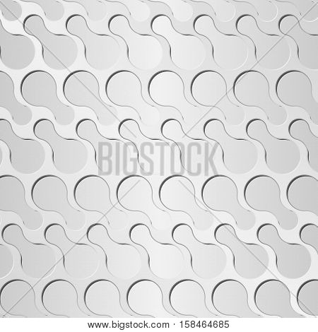 Abstract Background Metal Texture, Hexagonal Grid Shape
