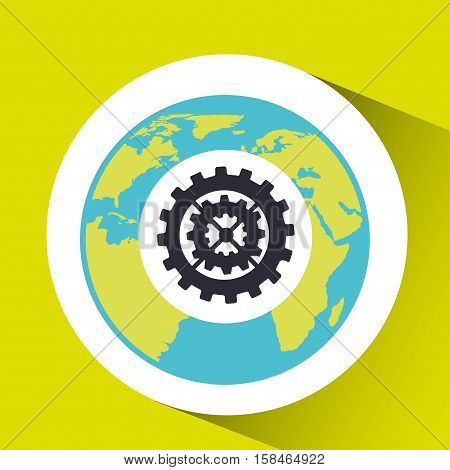 teamwork social media world map vector illustration eps 10