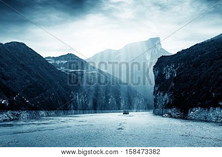 Majestic Qutang Gorge and Yangtze River - Baidicheng Chongqing China