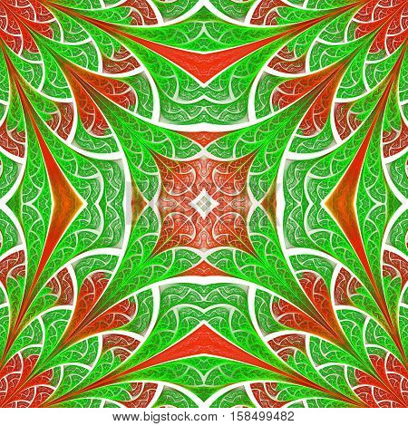 Beautiful pattern in stained-glass window style. You can use it for invitations notebook covers phone cases postcards cards wallpapers and so on. Artwork for creative design.