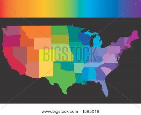 USA-Regenbogen