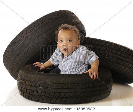 Tire-stuck