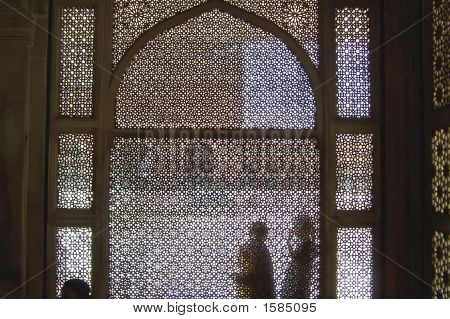 Details Of Oriental Architecture, Fatehpur Sikri Fortress, Agra, India