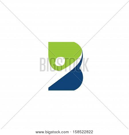 creative B letter health concept Vector logo template, abstract business letter B logo vector