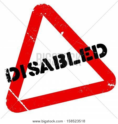 Disabled Stamp