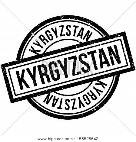 Kyrgyzstan Rubber Stamp