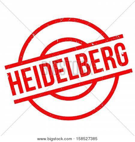 Heidelberg Rubber Stamp