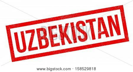 Uzbekistan Rubber Stamp