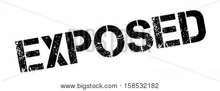 Exposed Rubber Stamp