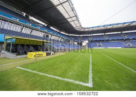 Interior View Of Brondby Arena