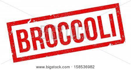 Broccoli Rubber Stamp