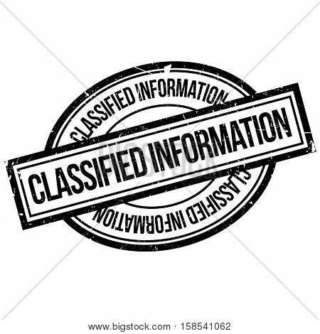 Classified Information  Rubber Stamp