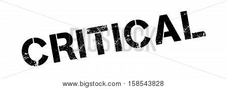 Critical Rubber Stamp
