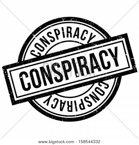 Conspiracy Rubber Stamp