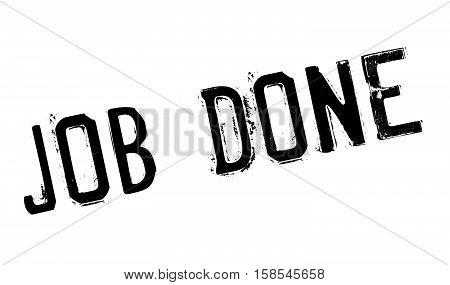 Job Done Stamp