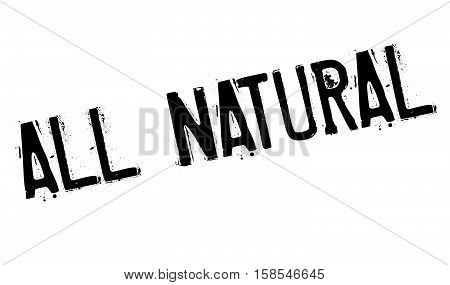 All Natural Stamp