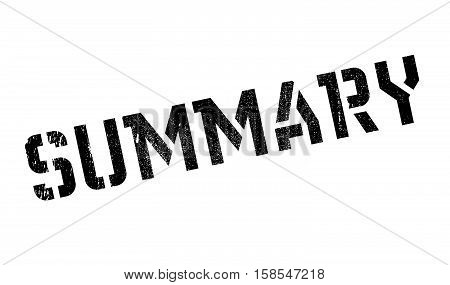 Summary Stamp