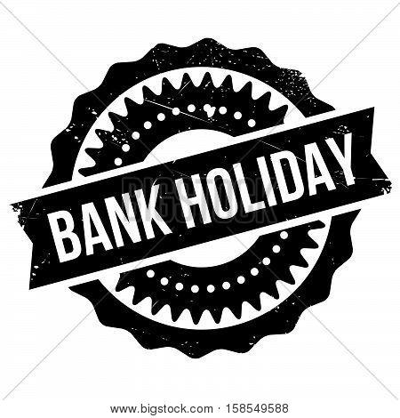 Bank Holiday Stamp
