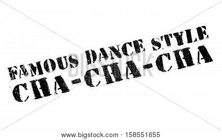 Famous Dance Style, Cha-cha-cha Stamp