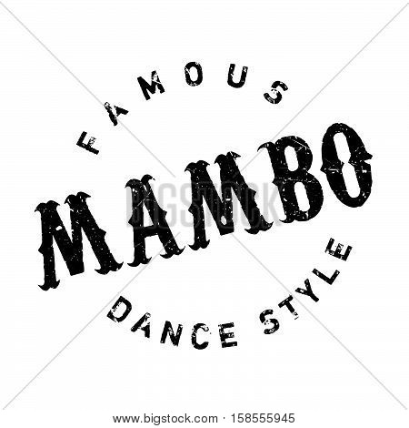 Famous Dance Style, Mambo Stamp