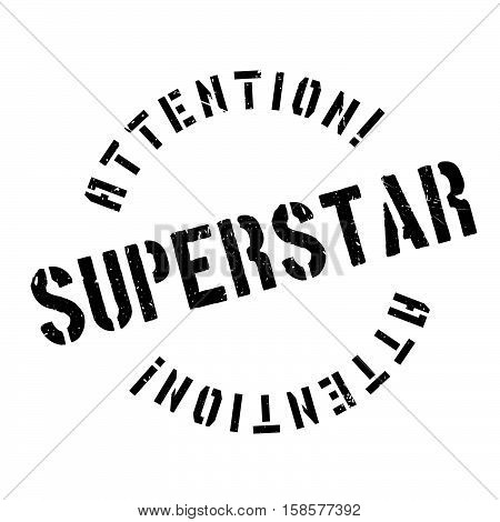 Superstar Rubber Stamp