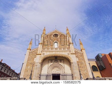 San Jeronimo El Real Church