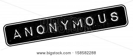 Anonymous Rubber Stamp