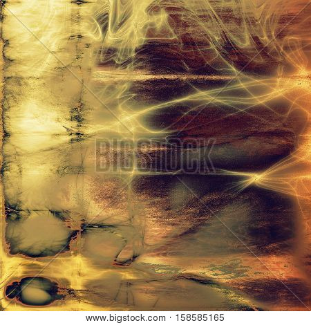 Old, grunge background or damaged texture in retro style. With different color patterns: yellow (beige); brown; gray; red (orange); purple (violet)