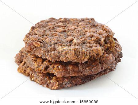 Brown Oatmeal Cookies