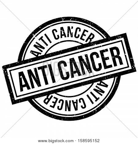 Anti Cancer Rubber Stamp