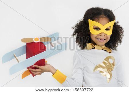 Superhero Girl Bold Brave Female Idol