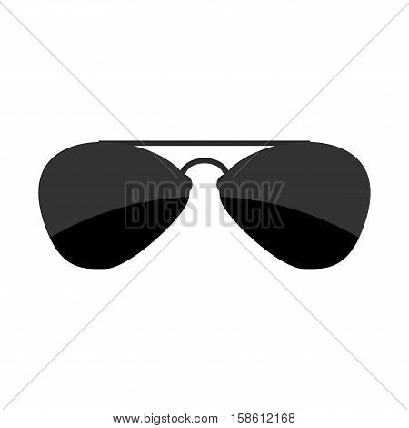 Sunglasses Isolated. Accessory From Sun On White Background