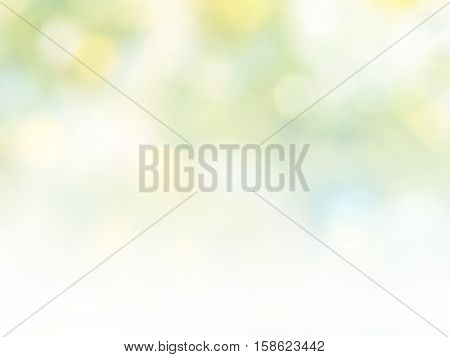 color abstract bacground withe blurred defocus bokeh light for template