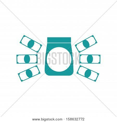 Cost Of Goods Icon. Business Finance Sign