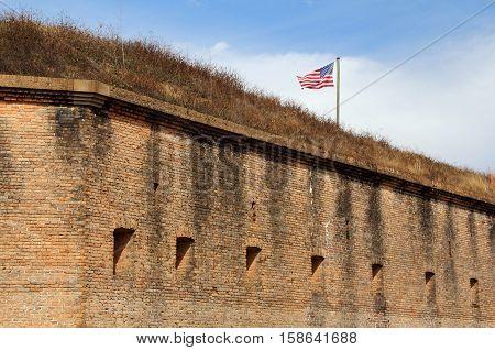 Fort Barrancas, Gulf Islands National Seashore, Pensacola, Florida