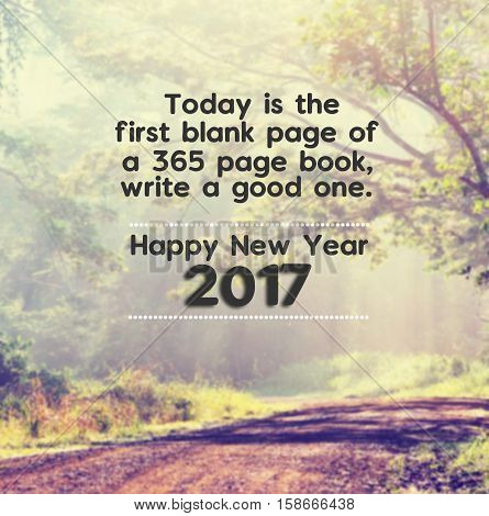 Happy New Year Inspirational Quotes With Phrase