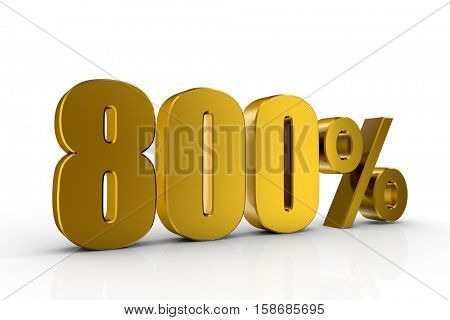 3d illustration 800%