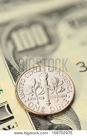 Dime Us Cent Coin